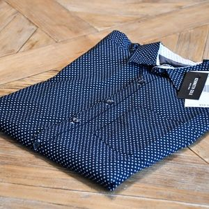 Kenneth Cole Short-Sleeve Button Down